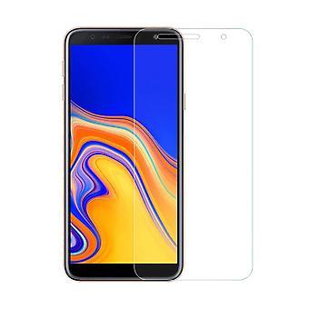 Samsung Galaxy J4 + Plus säiliön suoja näyttö lasi säiliö folio 9H Real Glass-10 kpl