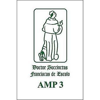 Francisci De Marchia Quaestiones in Secundum Librum Sententiarum (Rep