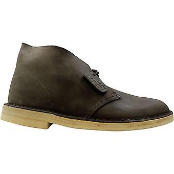 Clark's Desert Boot Grau Leder 77821 Männer's