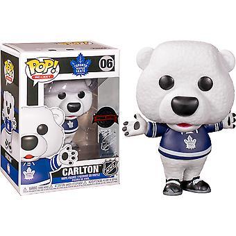 NHL Maple Leafs Carlton the Bear US Excl Pop! Vinyl