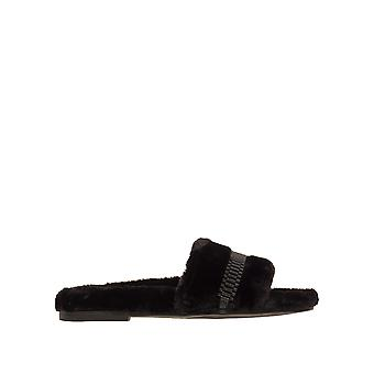 Kendall + Kylie Women's Shade2 Royal Fur Slides