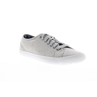 Ben Sherman Conall Lo  Mens White Canvas Lifestyle Sneakers Shoes