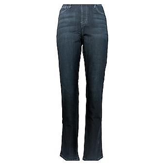 Laurie Felt Women's Jeans Regular Silky Denim Slim Pull-On Blue A290642