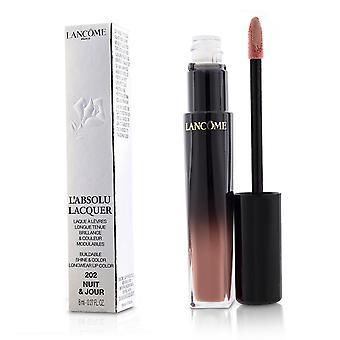 L'absolu lacquer buildable shine & color longwear lip color   # 202 nuit & jour 8ml/0.27oz