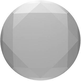 POPSOCKETS Metallic Diamond Silver Mobile phone stand Silver, Metallic