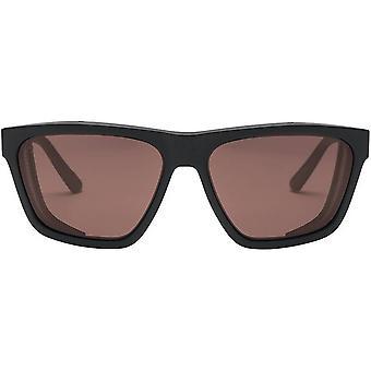 Electric California Road Glacier Sunglasses - Matte Black/Polarized Rose Pro
