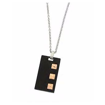 ZOPPINI Stainless Steel Black Necklace