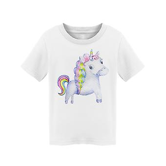 Watercolor Clipart Unicorn Tee Toddler's -Image by Shutterstock
