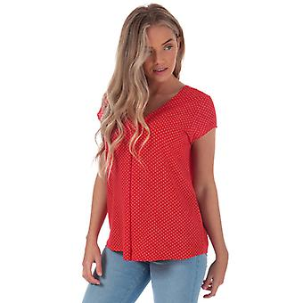 Women's Only Nova Lux Deep V Top in Red