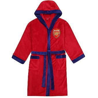 Arsenal FC Oficial de Fútbol Regalo de Fútbol Hombres con capucha Fleece Vestido Robe