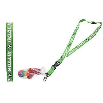 Pack of 6 Rock Dummy With Lanyard - Football Goal!