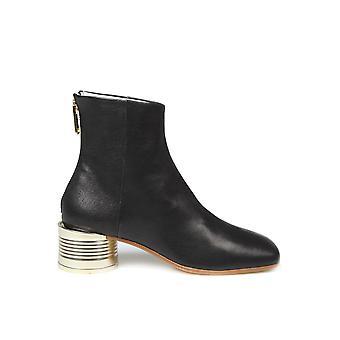 Mm6 Maison Margiela S59wu0170p2721t8013 Femmes's Bottes de cheville en cuir noir