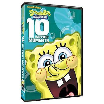 Spongebob Squarepants - 10 Happiest Moments [DVD] USA import
