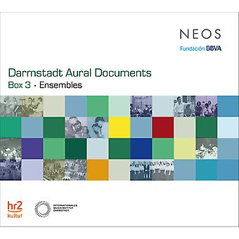 Various Artist - Darmstadt Aural Documents - Box 3 [CD] USA import