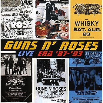 Guns N' Roses - Live Era 1987-93 [CD] USA import