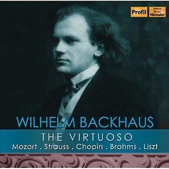 Mozart/Strauss/Chopin/Brahms/Liszt - The Virtuoso [CD] USA import