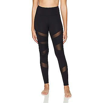 Core 10 Frauen's Icon-Serie - der Krieger Mesh Legging, schwarz, groß