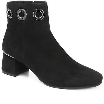 Regarde Le Ciel Womens Heeled Leather Ankle Boot