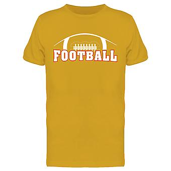 American Football Design Tee Men's -Image by Shutterstock