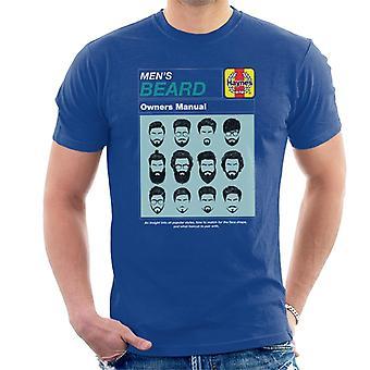 Haynes Hombres Barba Propietario Manual Men's Camiseta
