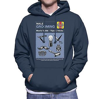 Haynes Male Grooming Tips And Tricks Men's Hooded Sweatshirt