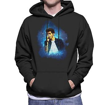 Zayn Malik Of One Direction Murrayfield Stadium 2014 Men's Hooded Sweatshirt