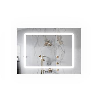 Rectangle Demister Led Bathroom Mirror Wall Mount