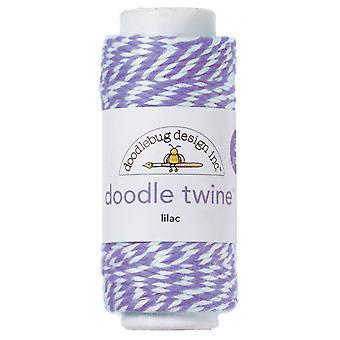 Doodlebug Design Lilac Doodle Twine