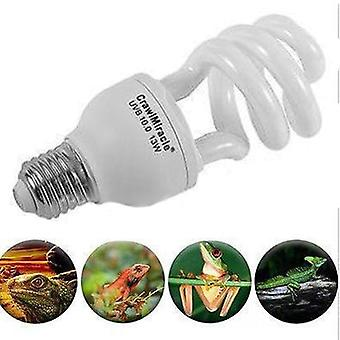 Uvb 13w Reptile Light Bulb Lamp - Reptile Tortoise Turtle Snake Pet Heating Light Bulb