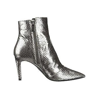 Michael Kors Womens Dorothy Flex Leather Pointed Toe Ankle Fashion Boots