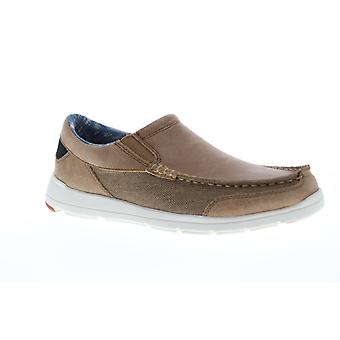 Tommy Bahama Paradise Rond Slip On Mens Brown Casual Loafers Schoenen