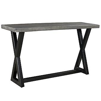 Phoebe Console - Distressed Grey