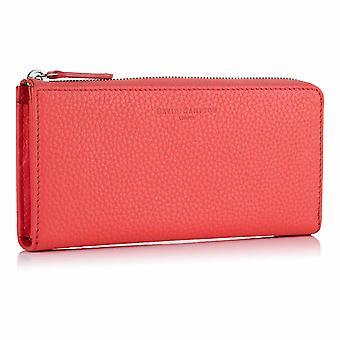 Jaipur vaaleanpunainen Richmond nahka zip lompakko