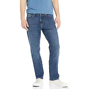 Essentials Men's Athletic-Fit Stretch Jean, Vintage Light Wash 30W x 29L