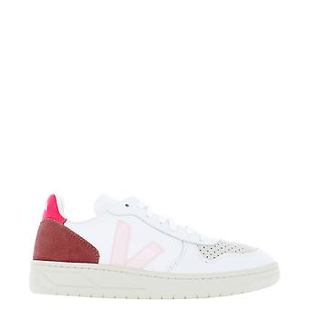 Veja Vx022292 Women's White Leather Sneakers