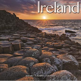 Ireland 2021 Wall Calendar by Created by Avonside Publishing Ltd