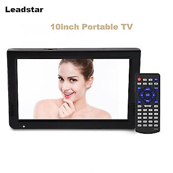 Televizor de 10 inchi Dvb-t-t2 Digital Analog Hd Television 1024x600 Rezolutie Portabil Tv Tf Card Usb Audio Video Car