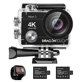Dragon Touch 4K Action Camera - 16MP Vision