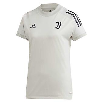2020-2021 Juventus Adidas Training Shirt (šedá) - Děti