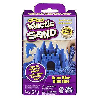 Kinetický piesok modrá 8oz neónové krabice