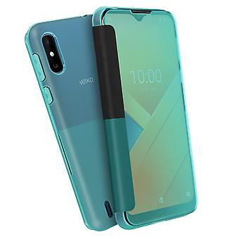 Back Cover for Wiko Y81 Original Easy touch smart window - Blue