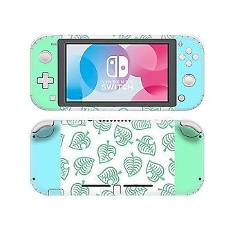 Tela de vinil Skin Animal Cruzando adesivos protetores para Nintendo Switch Lite