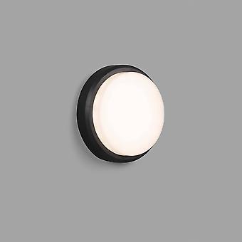 Faro Tom - Extérieur LED Mur gris foncé / Lampe de plafond 7W 3000K IP65