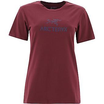 Arc'teryx 24023arcwordrhapsody Women's Burgundy Cotton T-shirt