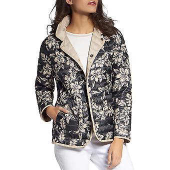 Basler | Snap-Front Reversible Puffer Jacket