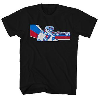Fu Manchu T Shirt The Action Is A Go Poster Art Fu Manchu T-Shirt