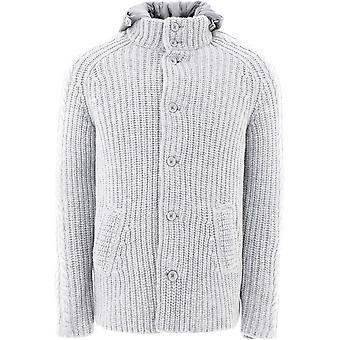 Herno Mc0004u70059406 Men's Grey Wool Outerwear Jacket