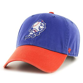 47 Brand Relaxed Fit Cap - CLEAN UP New York Mets Retro Logo