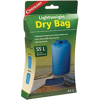 Coghlan's 55L Lightweight Dry Bag, Tear Resistant w/ Roll Top Closure 55 Liter