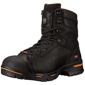 Timberland Mens Endurance Leather Steel toe Lace Up Safety Shoes